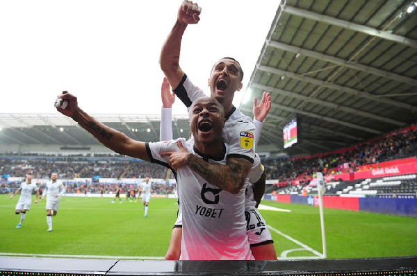 Andre Ayew snatches win for Swansea City with 8th league goal