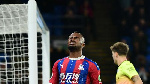 Crystal Palace forward Wilfried Zaha explains Jordan Ayew penalty swap against Manchester United