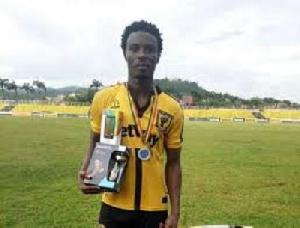 AshantiGold striker, Abdul Shafiu Mumun