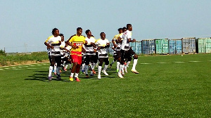The invited players are to report at the Ghanaman Soccer Center on Wednesday