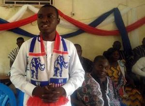 Elvis Botah, Deputy National Organizer of the ruling New Patriotic Party