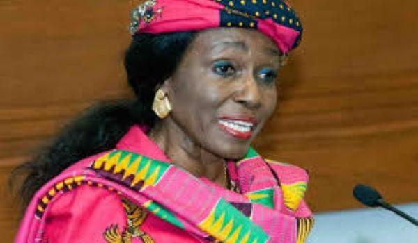 Former first lady, Nana Konadu Agyeman-Rawlings