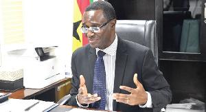 Ammishaddai Owusu Amoah, GRA Commissioner General