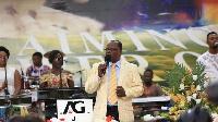 Senior Pastor of the Central Assemblies of God Church, Tema Community Four, Rev. David Nabegmado