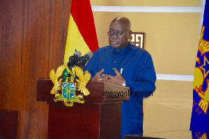 President Akufo-Addo promised to implement One-factory in every district across the country