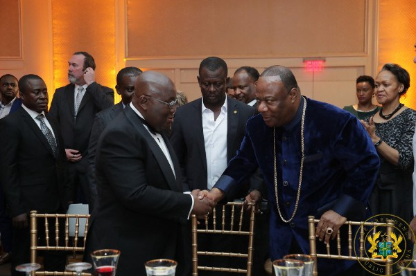 Flashback: Akufo-Addo, Duncan-Williams prove there's no difference between politicians and pastors - Ablorh
