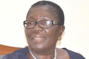 Mrs Dorcas Coker-Appiah, Gender Centre Executive Director