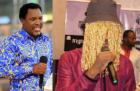 Anas Aremeyaw Anas reportedly visits the man of God for prayers and spiritual protection