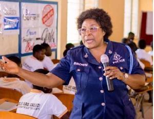 Madam Mercy Wilson Brown, Volta/Oti Regional Coordinator of DOVVSU