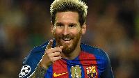 Lionel Messi, dan wasan Barcelona