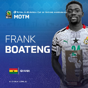 Black Satellites midfielder, Frank Boateng