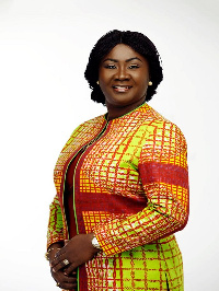 Mrs. Linda Yaa Ampah, President of the Stanford Seed Transformation Network, Ghana