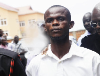 Charles Antwi, jailed for illegal possession of firearm