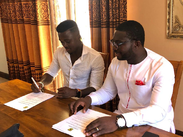 Patrick Asmah delighted to join dream club Asante Kotoko SC