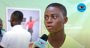 Christopher Adjei Okpoti hopes to officiate at the World Cup