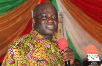 Former Brong Ahafo Regional Minister, Eric Opoku.