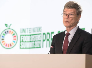 Special Adviser to the Secretary-General, United Nations (UN), Prof. Jeffrey Sachs