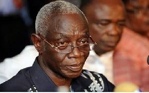 Dr Kwadwo Afari-Gyan, former EC Boss