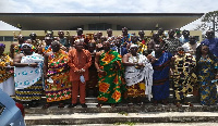 The Central Region Chiefs were sensitized on the novel coronavirus