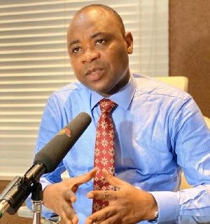 Executive Director of CRI, Bright Appiah