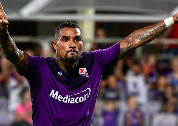 Fiorentina forward Kevin-Prince Boateng