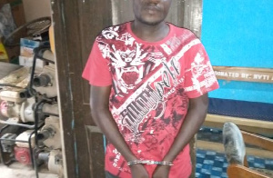 The 40-year-old Taxi driver, Phillip Amoah has been arrested