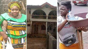 Mary Daniel: Lagos amputee hawker showcase her 'dream' house she buy for N17.5m