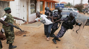 Uganda police and army have perennially ranked top of the aggressors list