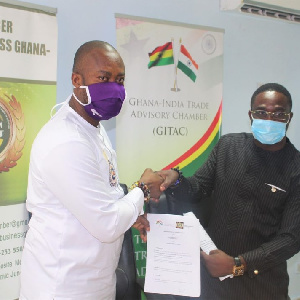GITAC has signed Memorandum of Understanding (MoU) with the Chamber of Agribusiness