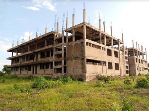 The abandoned E-Block at Namong