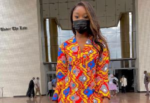 Social media sensation Efia Odo