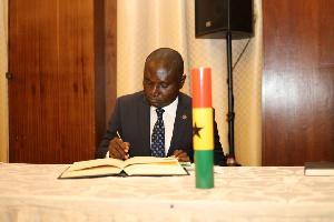 Charles Owiredu, Ghana's Ambassador to South Africa