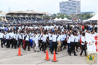 NaBCo recruits were inaugurated in October 2018