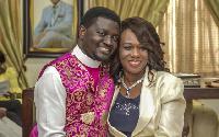 Bishop Charles Agyin-Asare and his wife Vivian