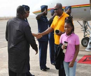 Mahama's daughter Farida all grown, Republik City News