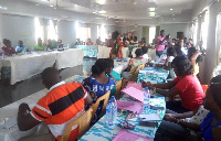 Stakeholders at a two-day training for Community Health Service Providers