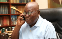 Nana Addo Akufo-Addo beats the sitting President, John Mahama by securing 53.85% of votes cast.