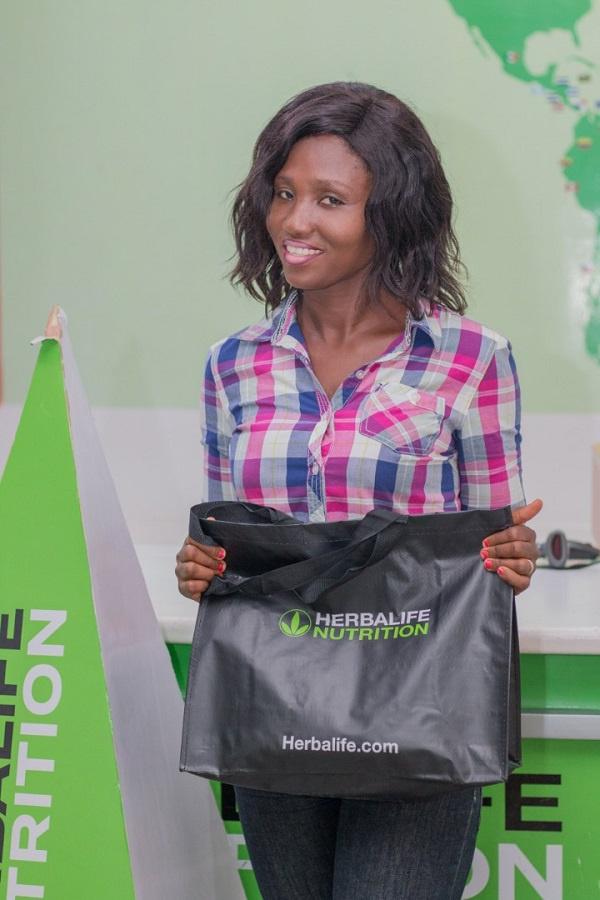 Herbalife Nutrition Ghana rewards winners from 'Month of Love' promo