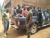 The Burkina Faso nationals were apprehended at the Babile checkpoint in the Upper West Region