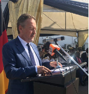 Christoph Retzlaff, German Ambassador to Ghana