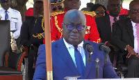 President Akufo-Addo addressing the gathering