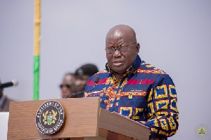 President Akufo Addo Delivering His Address At The Ceremony