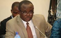 First Deputy Speaker of Parliament,  Joe Osei Owusu,