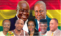 The seven presidential candidates contesting this year's elections