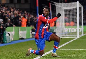 Jeffrey Schlupp was on target for Palace