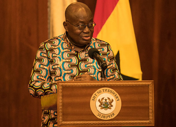 President Akufo-Addo receives appreciation of honour for 1D1F