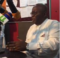 Nana Addo Dankwa Akufo-Addo, NPP Flag bearer