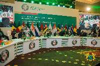 ECOWAS leaders met in Accra on September 16 for discussions on Guinea, Mali crisis