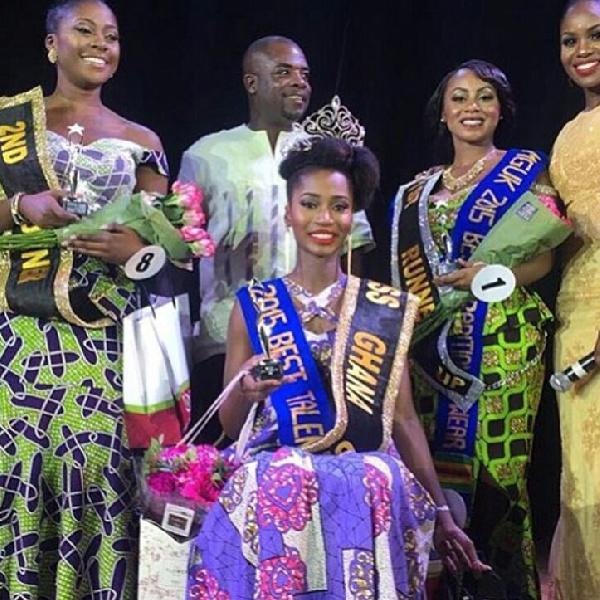 Adjoa Serwaa Obeng is Miss Ghana UK 2015
