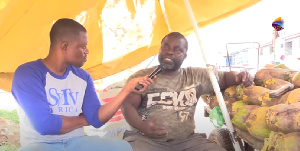 Mr. Kweku Frimpong in an interview with SVTV